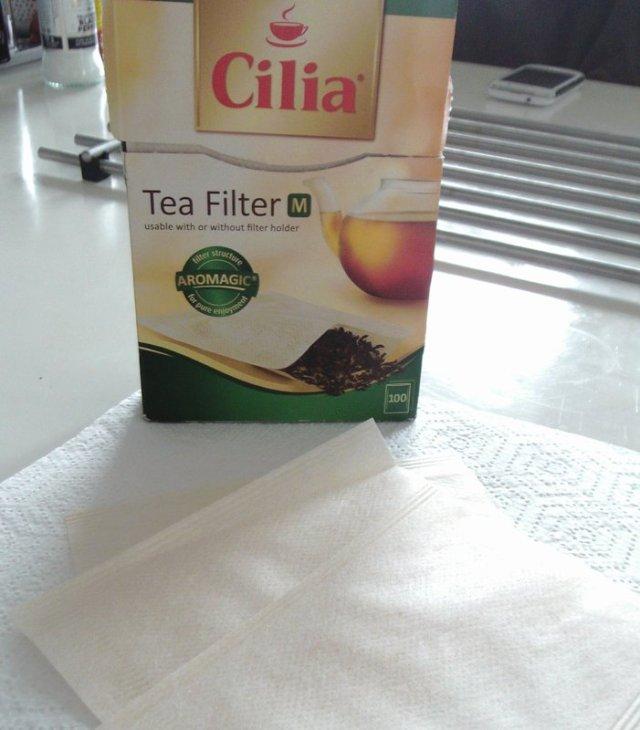 Cilia tea filters