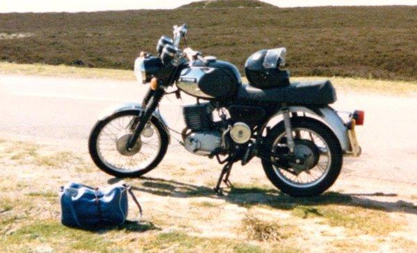moorland motorbike