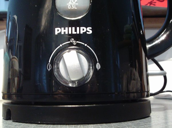 Philips variable temperature kettle