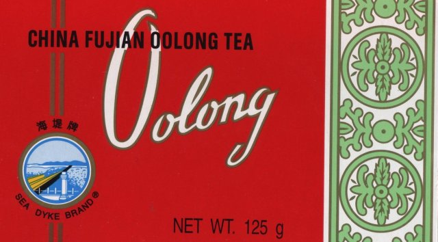 Oolong tea packet