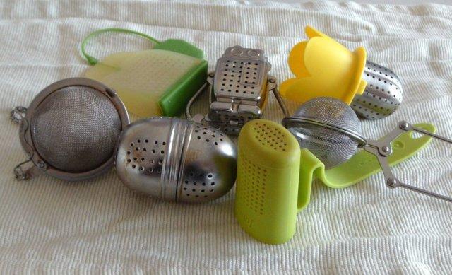 various tea ball filters