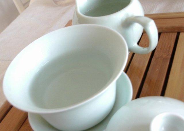 rinse your teaware