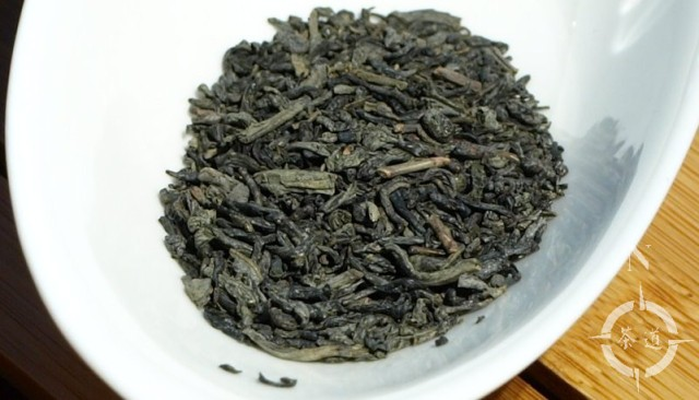 Chun Mee tea leaves