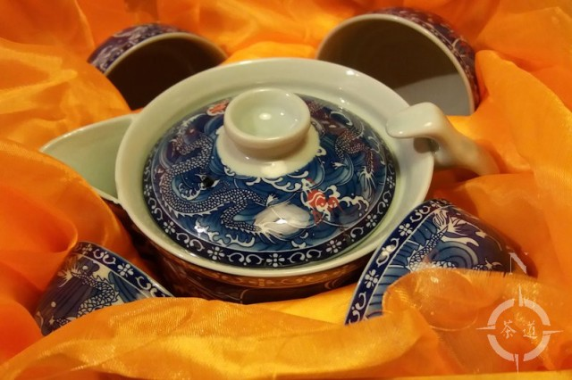 Kina Li tea set