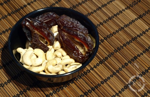 Medjool dates and cashews