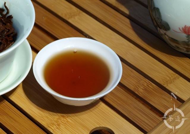 Yunnan Gold, 2nd. gaiwan steeping