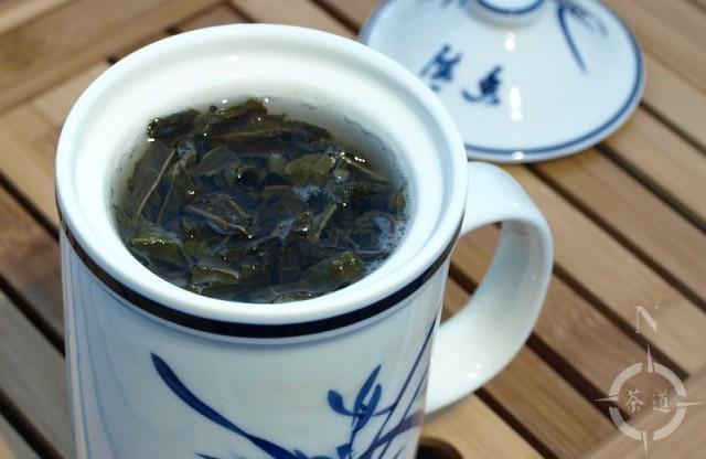 infusing ti kuan yin in a zhong