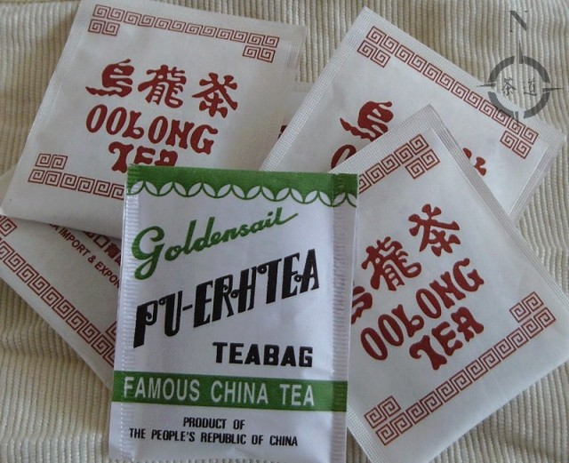 old tea bags
