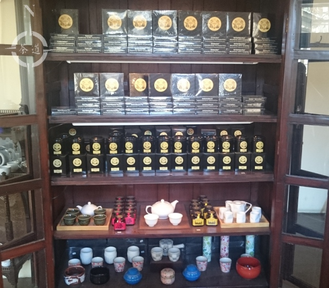 Chaikhana tea house cabinet