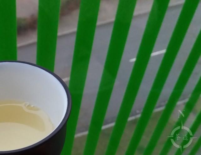 early morning tea on a balcony