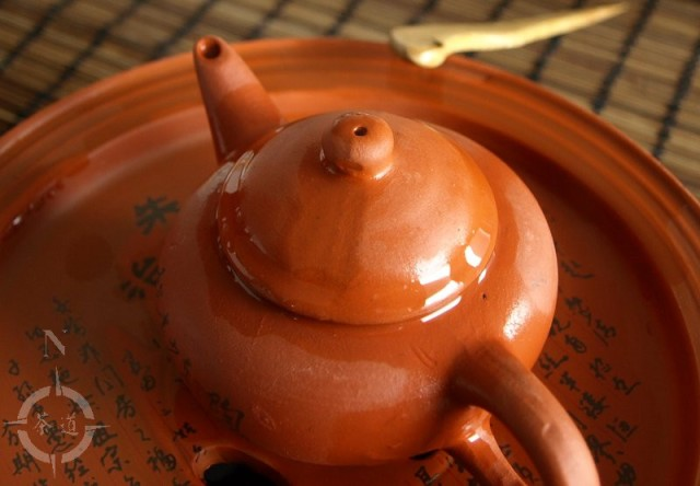 tea pot steeping