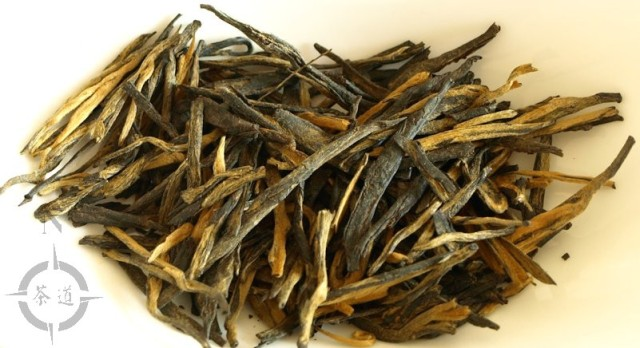 fujian tulou old tea - dried leaf