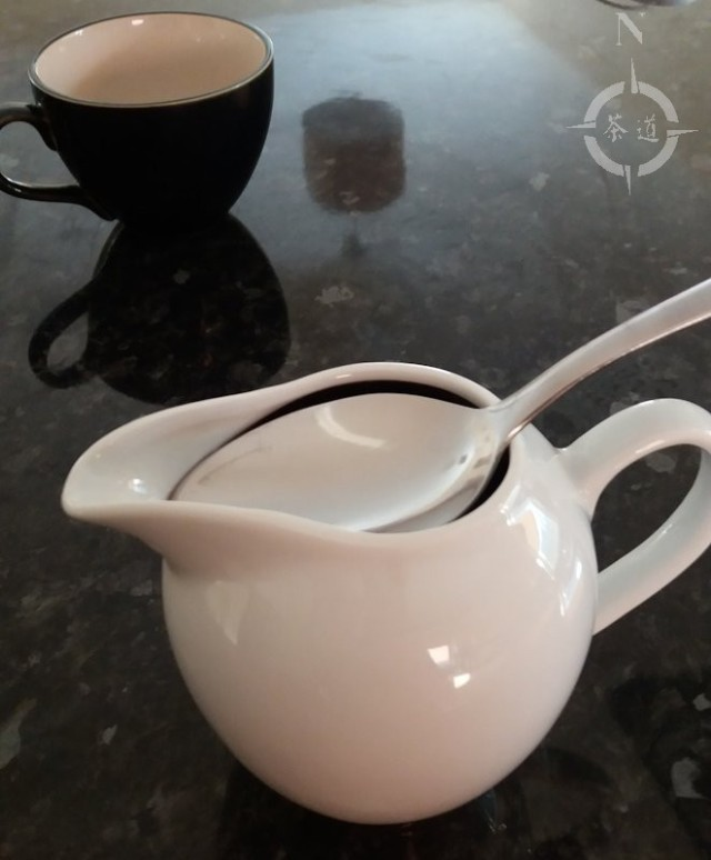 jug and spoon