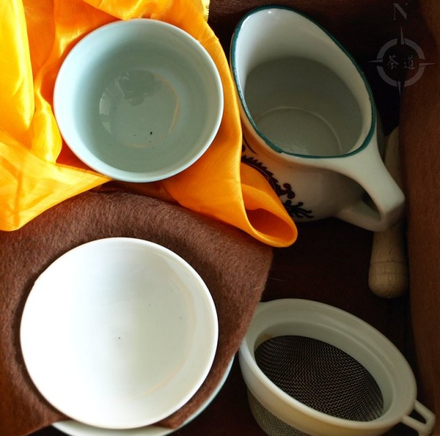 travelling tea kit