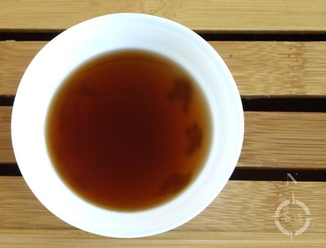 2003 meng hai factory shou pu-erh - in the teacup