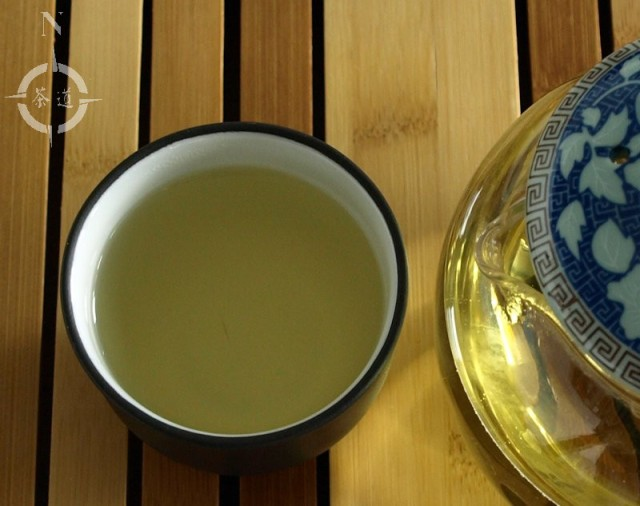 lemongrass flavoured organic green gunpowder tea