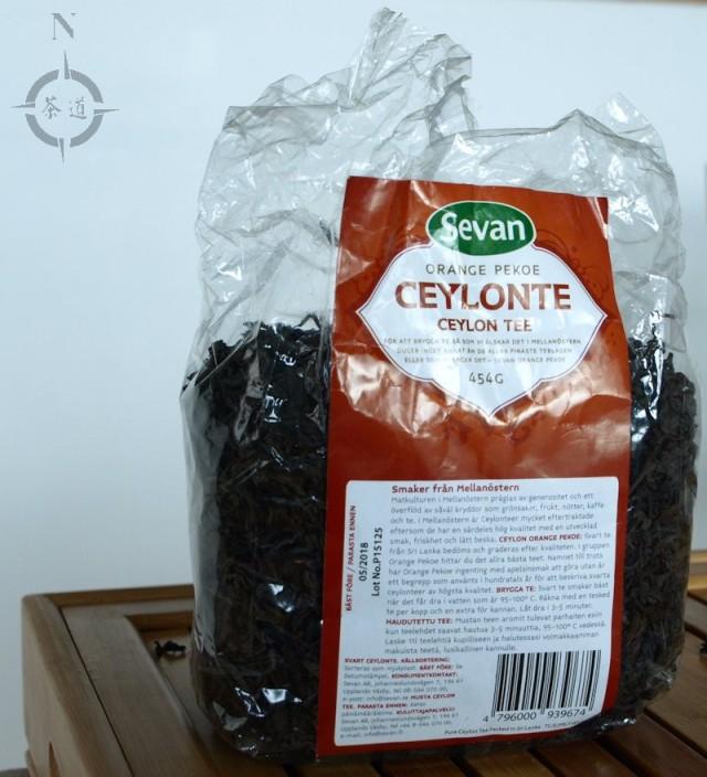 Sevan Ceylon tea - packet