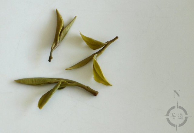 Huo Shan Huang Ya used leaves