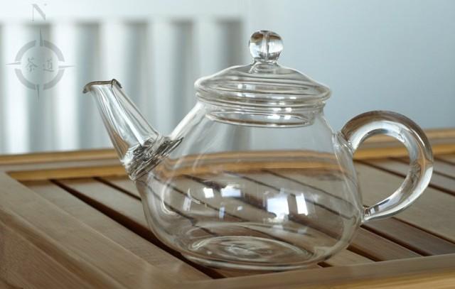 150ml glass teapot empty