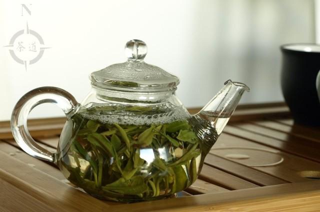 150ml glass teapot full