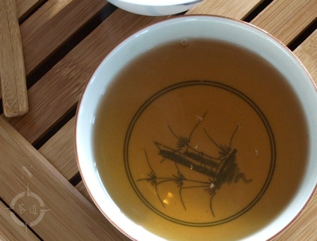 a cup of wuyi shan shui hsien