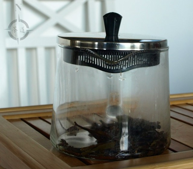 Riklig teapot with French press lid