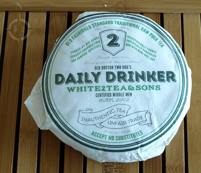 White2Tea Daily Drinker - wrapper