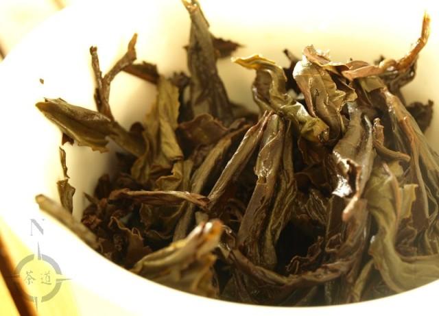 wuyi shan shui hsien - used leaves