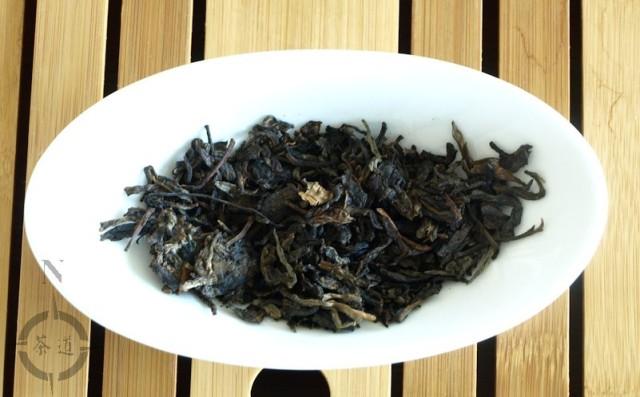 2004 Jianshen Tuo - dry leaf