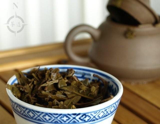 2010 Haiwan Lao Tong Feng Sheng - used leaves