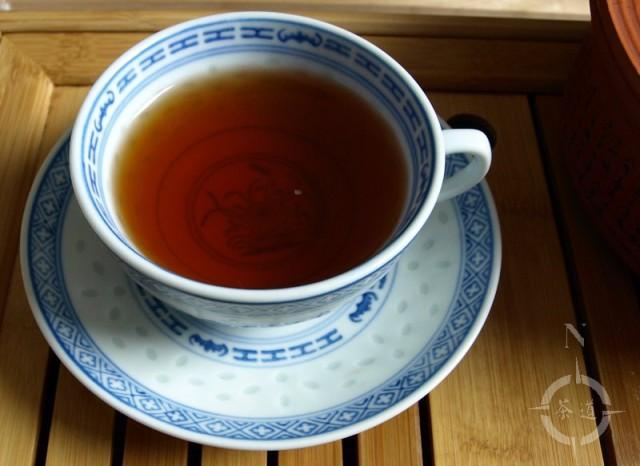 a cup of Chocolate Shou Pu-erh