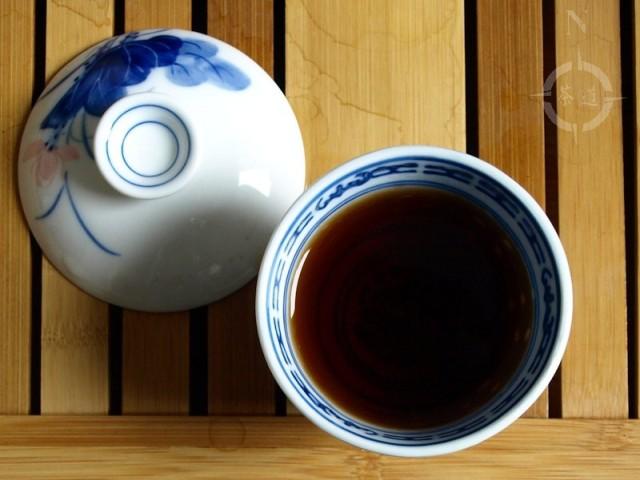 a cup of Danyun Fairtrade Imperial pu-erh