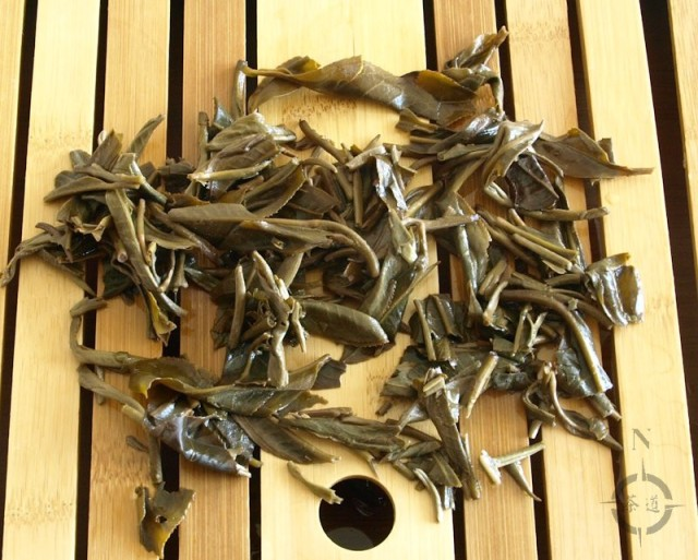 2015 What-Cha Lao Shu Bai Cha - finished leaf