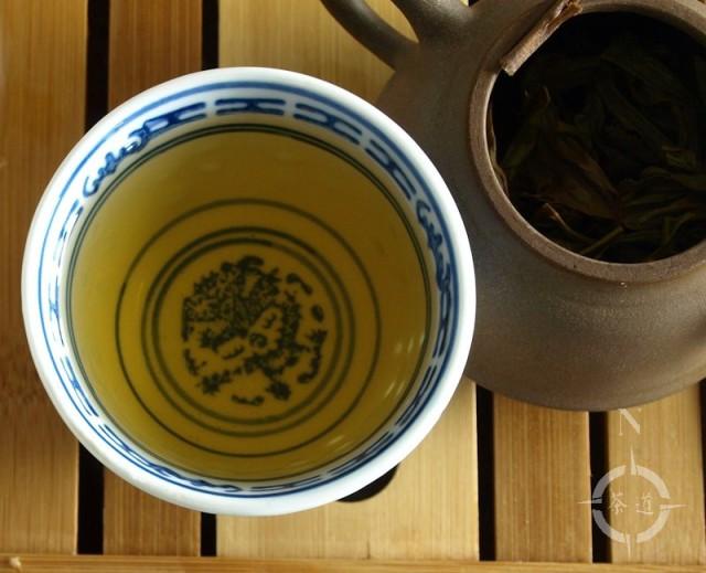 a cup of What-Cha Autumn 2016 Jingmai Shengtai Sheng