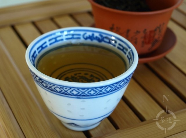 a cup of What-cha Taiwan roast Oolong
