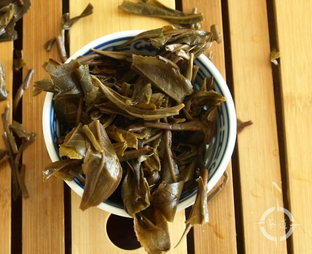 What-Cha Autumn 2016 Jingmai Shengtai Sheng - finished leaf