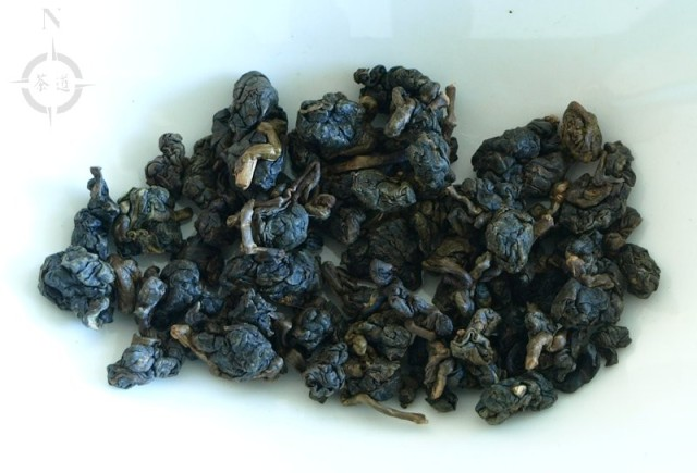 What-cha Taiwan roast Oolong - dry leaf