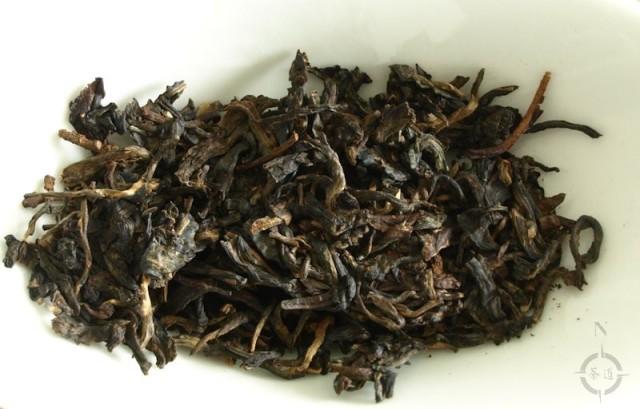 2001 Xia Guan Jia Ji - dry leaf
