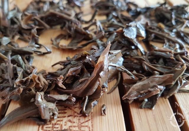 2001 Xia Guan Jia Ji - used leaf