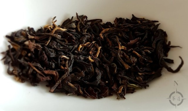 Gopaldhara Red Thunder Gold - dry leaf