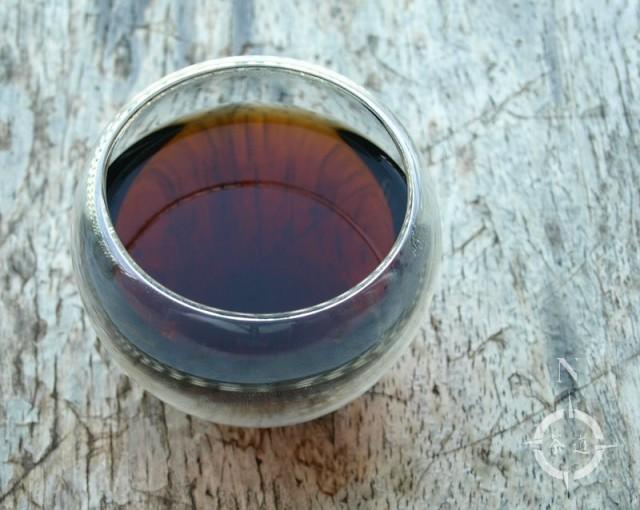 2007 Hua Teng Wu Liang Ripe Tuo - a cup of