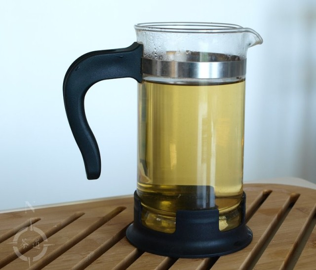 2015 Bancha Goishicha brewed in Upphetta French press
