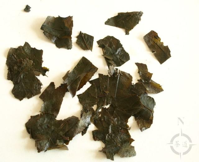 2015 Bancha Goishicha - used leaf