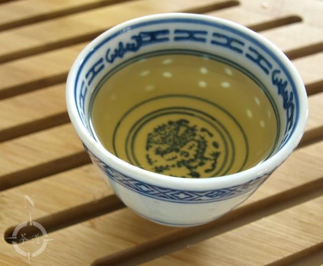 Western style brewed cup of 2015 Bancha Goishicha