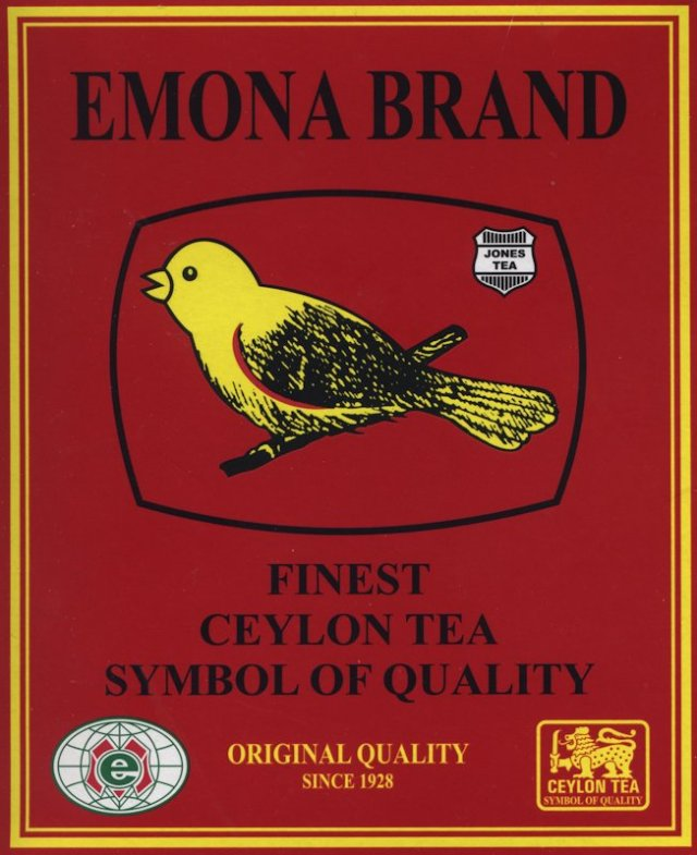 Emona Brand Ceylon - front of packet