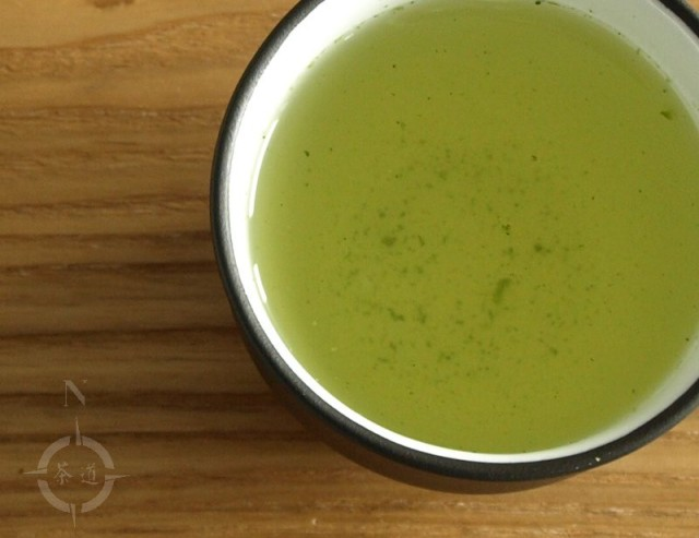 Sing Tehus Gyokuro Classic - a cup of