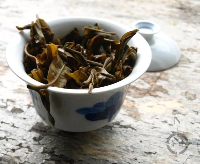 What-Cha Qing Mei Shan - used leaf