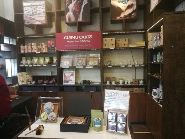 A general view of Mei Leaf tea shop
