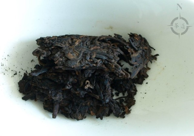2011 Man Nong Shou - dry leaf
