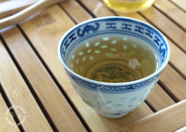 Mei Leaf Young Gushu 2017 - a cup of